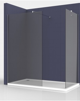 Shower screen walk-in