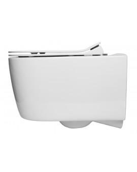 Toilette Alfa Glacera suspendue Rimless de 52 cm