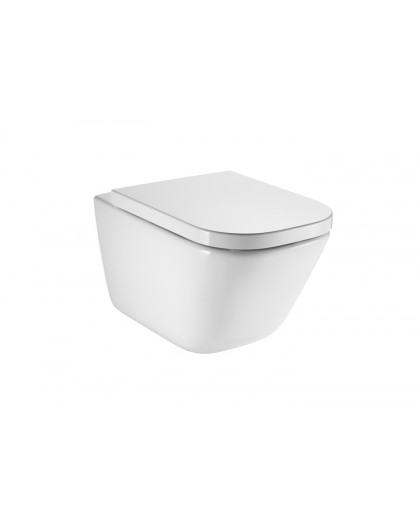 Wall-hung toilet The Gap square Rimless Rock