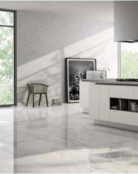 Faience Invictus White imitation marble Colorker