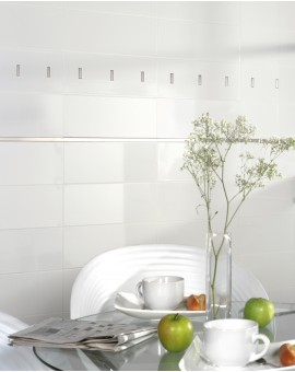 Tile White Smooth