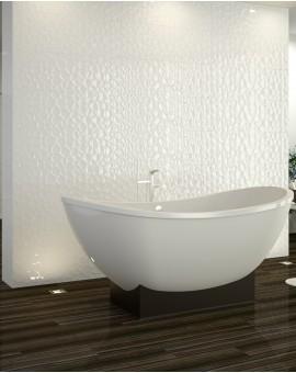 Tile White Prism