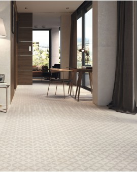 Tiles look Hydraulic Cement Matter 20x20 Encrypt