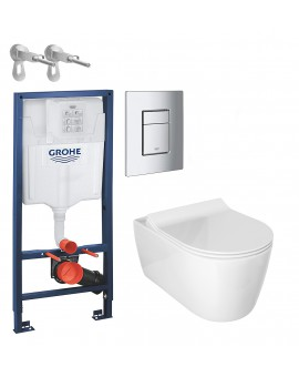 Kit WC Alpha Glacera with water Tank full of Grohe