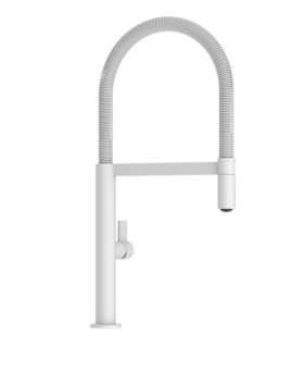 Kitchen faucet Laos Matte White with spout Removable-Imex