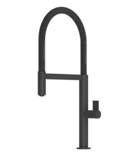 Kitchen faucet Laos Matte Black with spout Removable-Imex