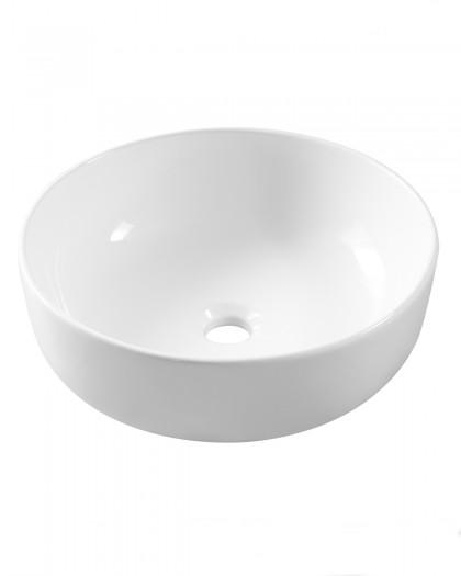 Lavabo sobre encimera porcelana fina SLM5040