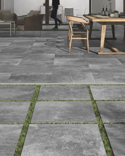 Carrelage Kainos Dalle imitation pierre 2cm Colorker