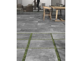 Carrelage Kainos 60x60 Dalle imitation pierre 2cm Colorker