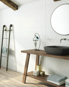 Faïence Blanc Aspen&Avoriaz Three Ceramics
