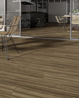 Porcelain imitation wood, exterior Ipe Out 15x90 Oset