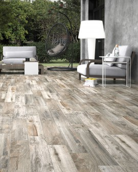 Porcelain tiles wood effect Decapada Lumber 15x66 Oset