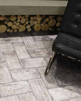 Porcelain stoneware tiles effect of manual Lodge 15,4x31 Oset
