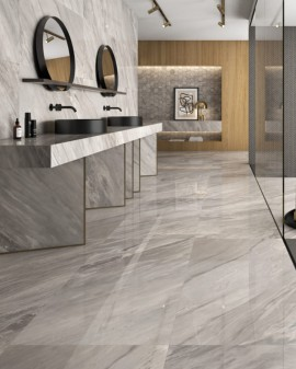 Pavement Porcelain tile look marble Luxe - American Tiles