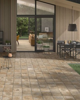 Gres porcelánico exterior Cottage 60x60 Colorker  / Shadow / Normal 10 mm / Shadow / Espesorado 20 mm