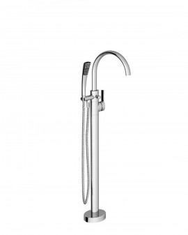 Faucet with floor-to-Tub-exempt FM080 Chrome-Ravak