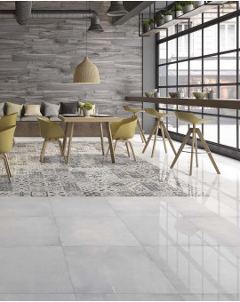 LOFT WHITE American Tile 60x60 Polished