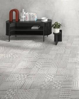 Cement effect Bathroom tile Memento 40x120 Colorker