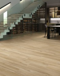Suelo gres porcelánico aspecto madera natural Lakeview Colorker 23x120