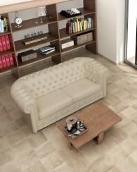 Pavimento Porcelanatto imitacion Cotto Camelot Tuscania / Beige / 15x30