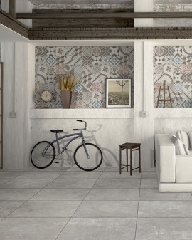 Porcelain tile imitation hydraulic Carociment 20x20 Tuscania