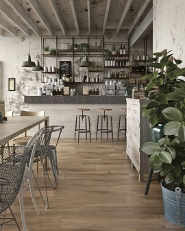 Italian porcelain wood imitation Decapé Floor Tuscania