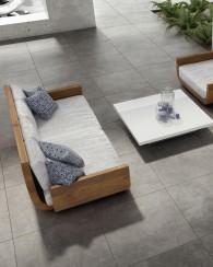 Italian porcelain floor tiles imitation cement Atelier Tuscaniagres