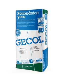 Highly deformable adhesive G100 flex Gecol C2TES1 25kg bag
