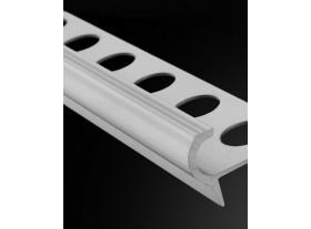 Peldaño Aludeco en aluminio 11mm Plasdecor
