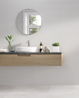 Sanchis stone effect Cannes 30x60 tiles for bathrooms
