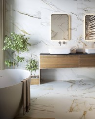 Calacatta Gold Colorker marble statuario look porcelain tile