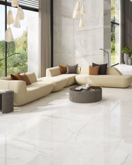 Carrelage imitation marbre Blanc Da Vinci White Colorker