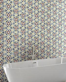 Azulejo hexagonal aspecto arabesco Kimri 22X25 Codicer