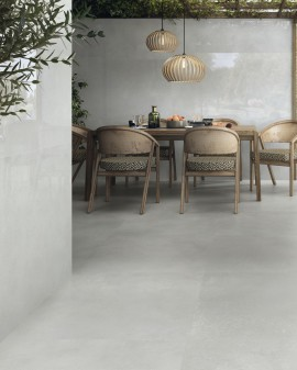 Cement effect porcelain tile Unik Baldocer