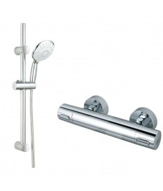 Ensemble douche Ceratherm 50 + Sense IDEAL STANDARD